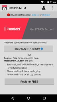 Parallels 2X MDM poster