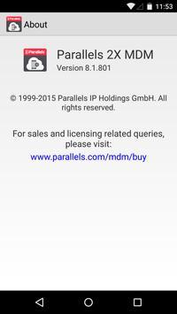 Parallels 2X MDM apk screenshot