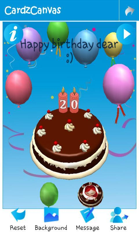3D Animated Greeting Cards APK Download Free Social APP for – Free Animated Birthday Card