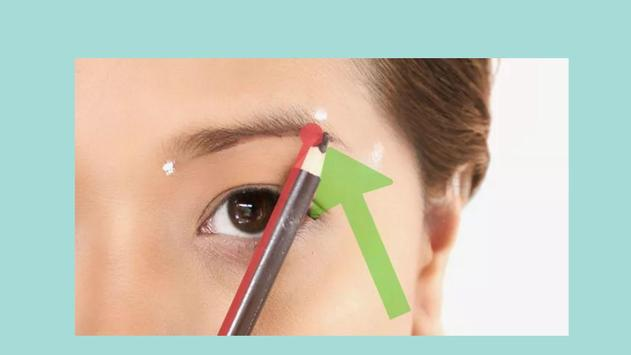 How to Fill in Eyebrows apk screenshot