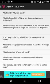 ASP.NET interview QA apk screenshot