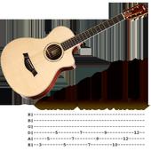 Guitar tabs finder icon