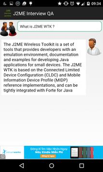 J2ME Interview questions apk screenshot