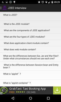 J2EE Interview questions apk screenshot