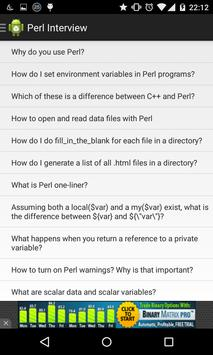 Perl Interview Questions poster