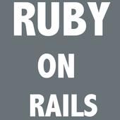 Ruby on rails offline icon
