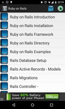 Ruby on rails offline poster