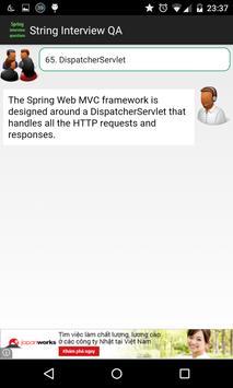 Spring Interview Q&A apk screenshot