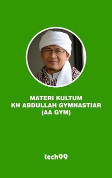 Kultum Aa Gym poster
