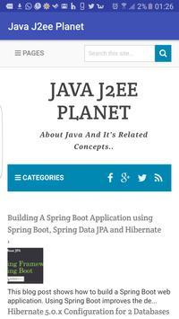 JavaJ2eePlanet poster