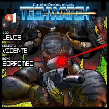 Techwatch Comic issue 1 FREE poster