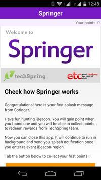 Springer apk screenshot