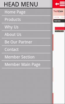 Techcom Mobile Web apk screenshot