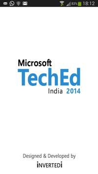 Microsoft TechEd India 2014 poster