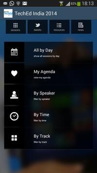 Microsoft TechEd India 2014 apk screenshot
