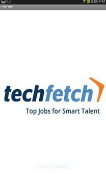 TechFetch Jobs poster