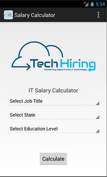 IT Salary Calculator poster