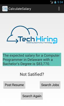 IT Salary Calculator apk screenshot