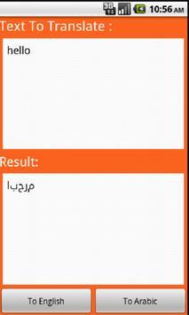 Arabic Translator poster