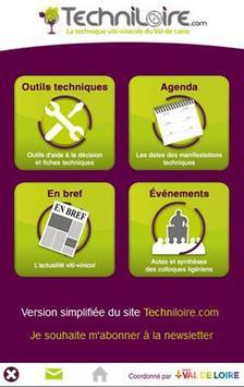 Techniloire poster