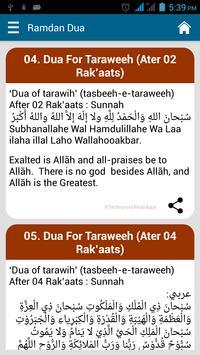 Ramadhan Karim Dua's with Text apk screenshot