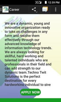 Techno Twit Solutions apk screenshot
