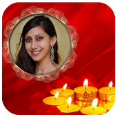 Diwali HD Photo Frame icon