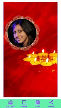 Diwali HD Photo Frame poster
