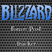 Blizzard Forum Post Tracker icon