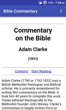 Bible Commentary (Adam Clarke) poster