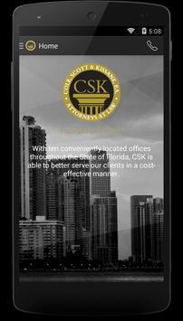 CSK Legal App poster