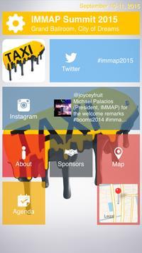 IMMAP Summit 2015 poster