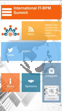 International IT-BPM Summit poster