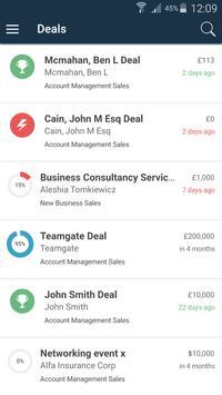 Teamgate - Sales CRM poster