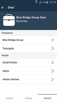 Teamgate - Sales CRM apk screenshot