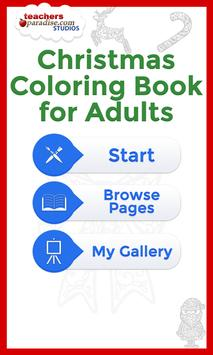 Christmas Coloring for Adults poster