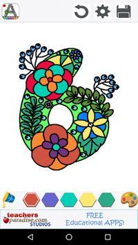 Adult Coloring Books: Alphabet apk screenshot