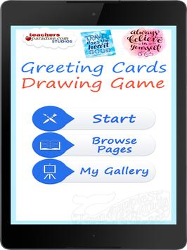 Greeting Cards Drawing Game poster