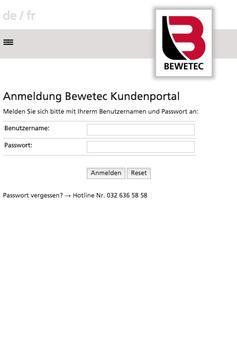 BEWETEC Portal poster