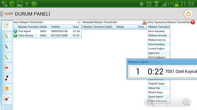 Tegsoft apk screenshot
