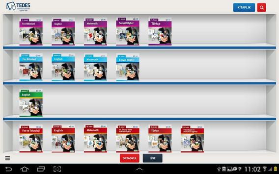 TEDES apk screenshot