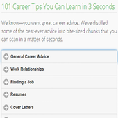 Career Tips icon