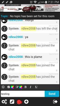 Teen Chatroom! apk screenshot