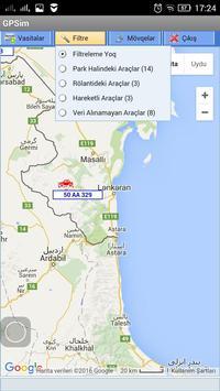 GPSim.az Araç Takip apk screenshot