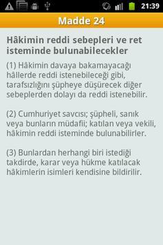 Ceza Muhakemesi Kanunu - CMK apk screenshot