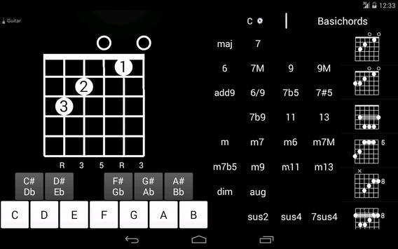 Basichords apk screenshot