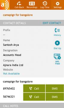Aavaz Telemarketing - Callers apk screenshot