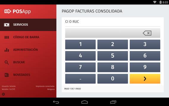 POSApp apk screenshot