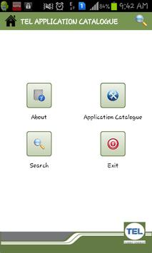 TEL APPLICATION CATALOGUE apk screenshot