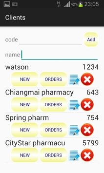 Sales Representative Order apk screenshot